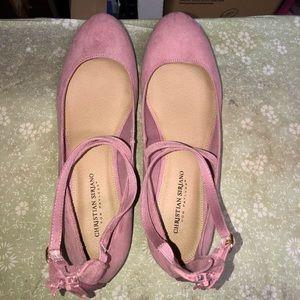 Pink flats brand new